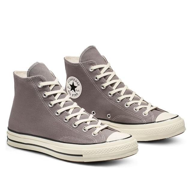 【CONVERSE】CHUCK 70 HI 高筒 休閒鞋 女 灰色(164946C)