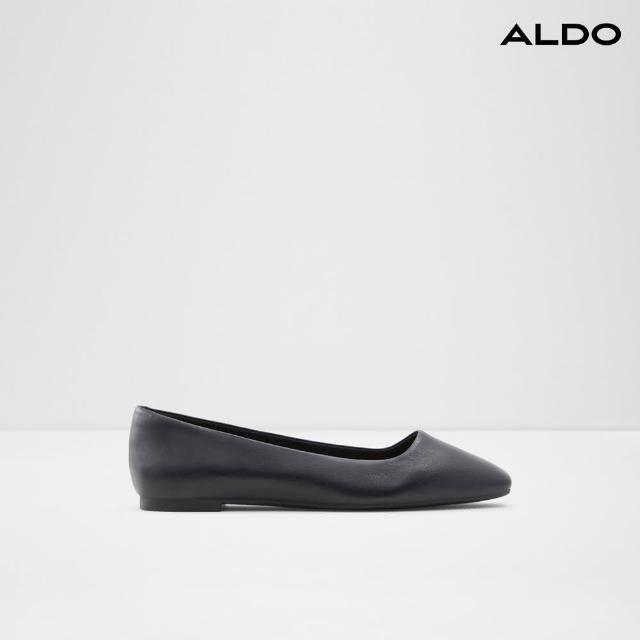 【ALDO】素面真皮娃娃鞋-女
