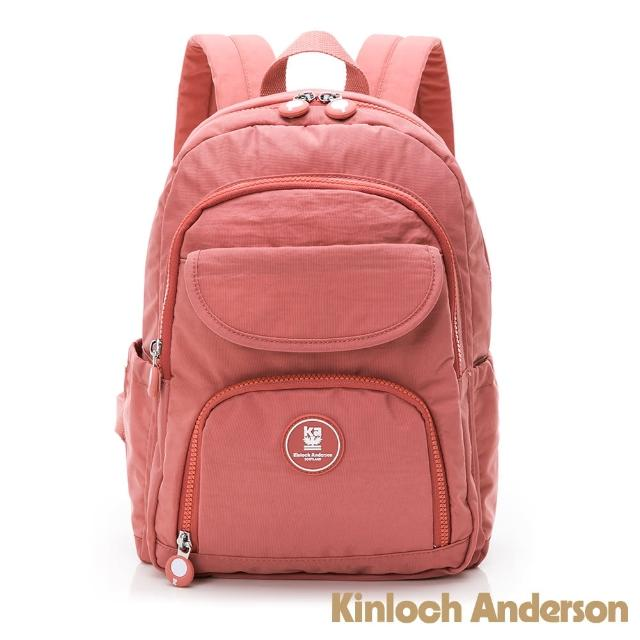 【Kinloch Anderson】FRANCIS 翻蓋後背包(桃紅色)