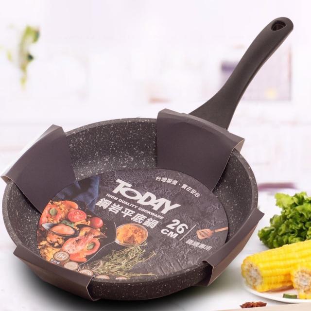 【TODAY】鋼岩不沾平底鍋(26cm)