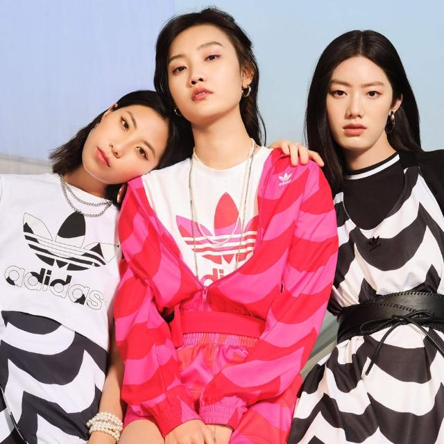 【adidas官方旗艦館】MARIMEKKO 運動外套 女(H20484)