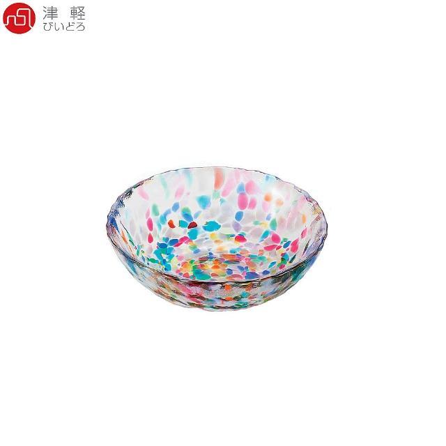 【ADERIA】日本津輕 手作睡魔玻璃碗 DF-71167(玻璃碗 醬料碟)