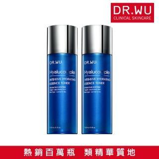 【DR.WU 達爾膚】買1送1★玻尿酸保濕精華化妝水150ML