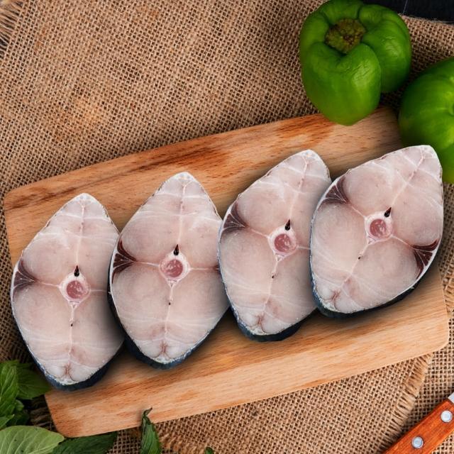 【優鮮配買1送1】嚴選優質無肚洞台灣土魠魚15片(加贈15片共30片)