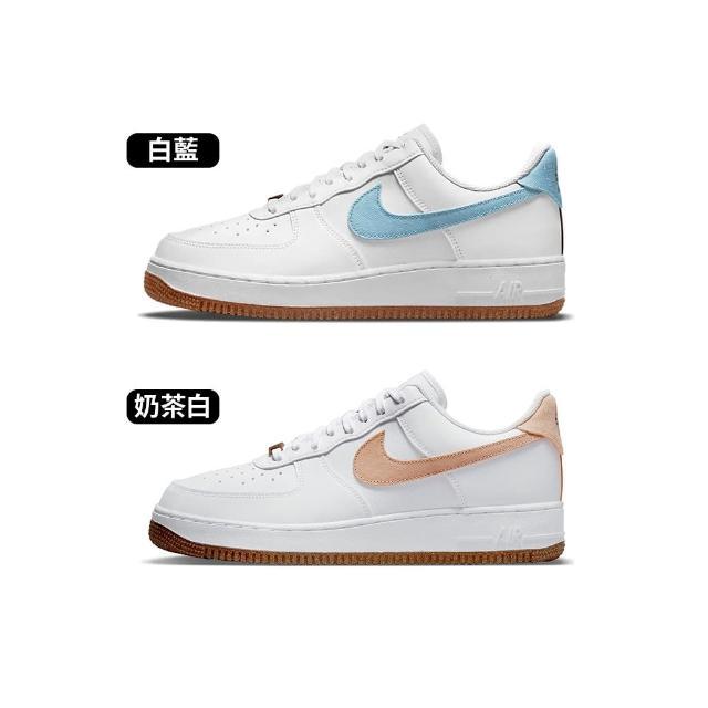 "【NIKE 耐吉】Air Force 1 07 LV8 ""Indigo"" 男 白 花卉 低筒 經典 休閒鞋 CZ0338-100"