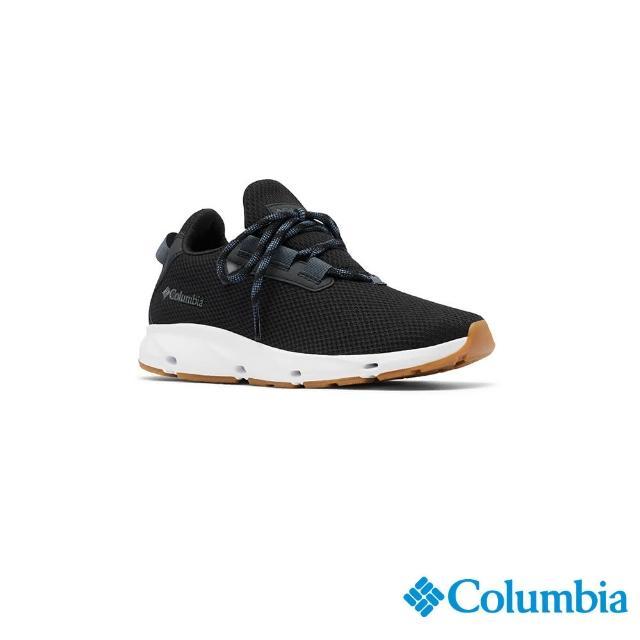 【Columbia 哥倫比亞】女款- 輕量透氣休閒鞋-黑色(UBL01590BK / 輕量.運動.健走)