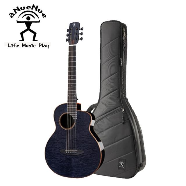 【aNueNue】M77 36吋黑影紋楓木民謠木吉他(原廠公司貨 商品品質有保障)