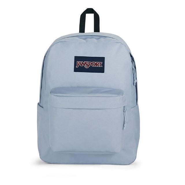 【JANSPORT】SUPERBREAK PLUS(薄暮藍 水壺側袋 JS-43511J7G7)