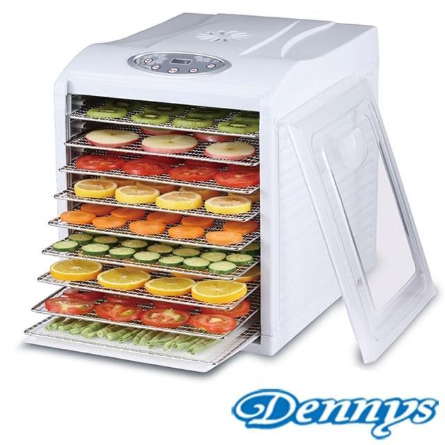 【Dennys】微電腦定時溫控9層不鏽鋼層架蔬果乾果機(DF-9090S)