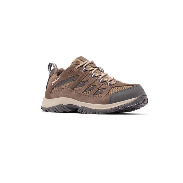 【Columbia 哥倫比亞】女款- Omni-Tech 防水登山鞋-棕色(UBL53720BN / 防水.健走.輕量)
