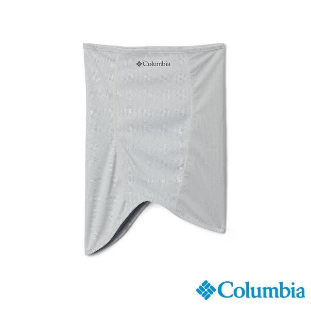 【Columbia 哥倫比亞】男女款-UPF50抗曬涼感快排頸圍-灰色(UCU01660GY / 抗UV.快排.涼感)
