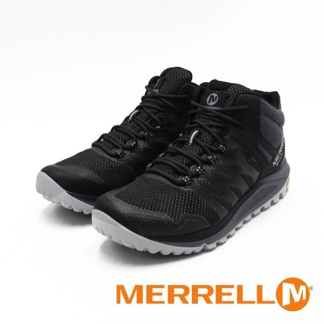 【MERRELL】男 NOVA 2 MID GTX防水郊山健行中筒鞋 男鞋(黑)