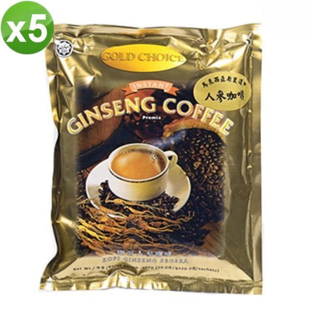 【金寶】人蔘咖啡(5袋/組)