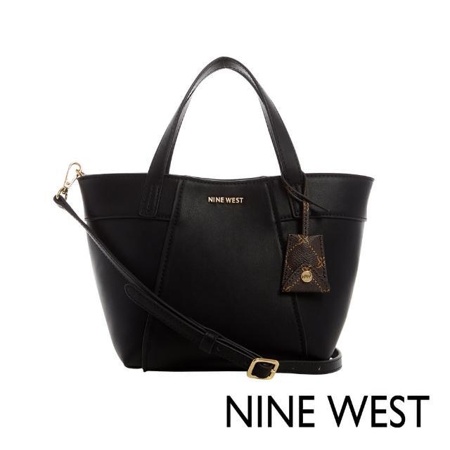 【NINE WEST】SUNNYSIDE經典MINI水餃包-黑色(118675)