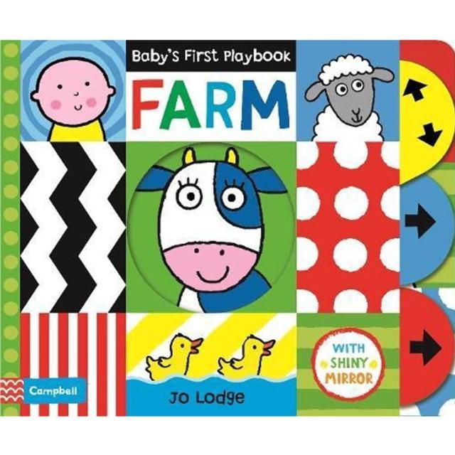 【Song Baby】Baby's First Playbook:Farm 寶寶的第一本遊戲書:農場篇(操作書)