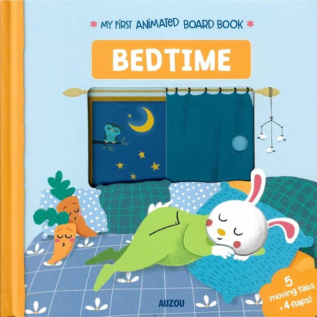 【Song Baby】My First Animated Board Book:Bedtime 我的第一本推拉小書:上床睡覺篇(操作書)