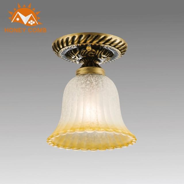 【Honey Comb】古典漸層花邊吸頂燈(BL-31858)