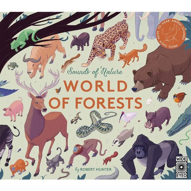 【Song Baby】Sounds Of Nature:World Of Forests 大自然聲音:森林篇(音效書)