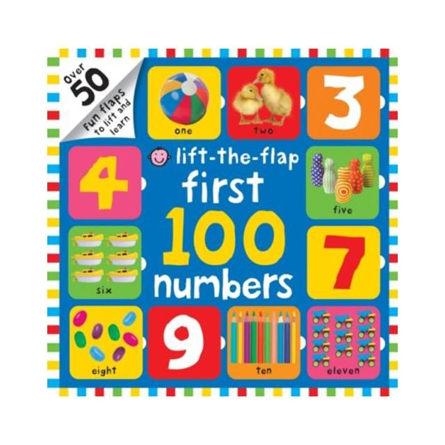【Song Baby】Lift-The-Flap First 100 Numbers 小小精算師:從1數到100翻翻書(英國版)