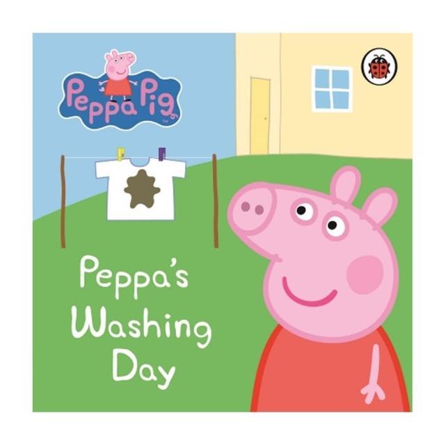 【Song Baby】Peppa Pig:Peppa's Washing Day 佩佩豬洗衣服(硬頁書)