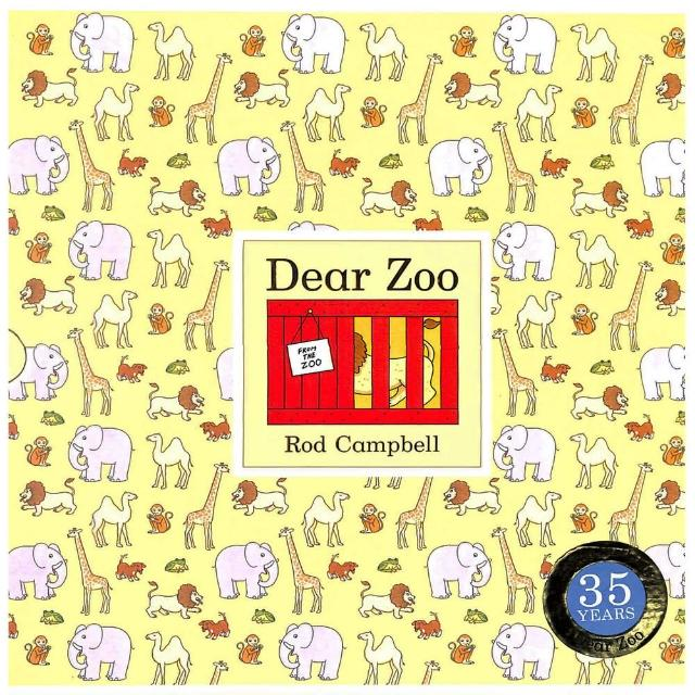 【Song Baby】Dear Zoo 35th 可愛動物園35週年版(翻翻書)