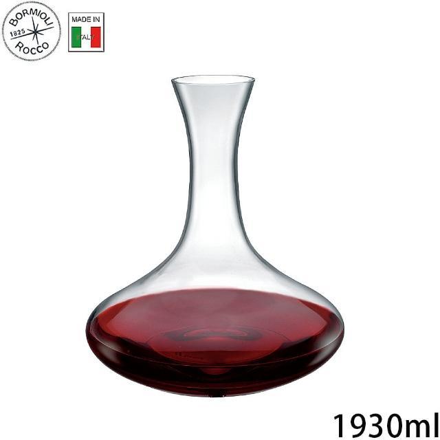 【Bormioli Rocco】無鉛水晶醒酒瓶 醒酒器 1930ml P70170(醒酒瓶)
