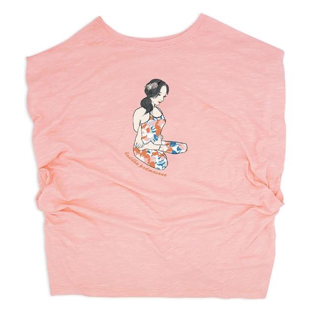 【AKUMA YOGA】罩衫-束腳蓮花式baddha padmasana(台灣設計師原創瑜珈系列)