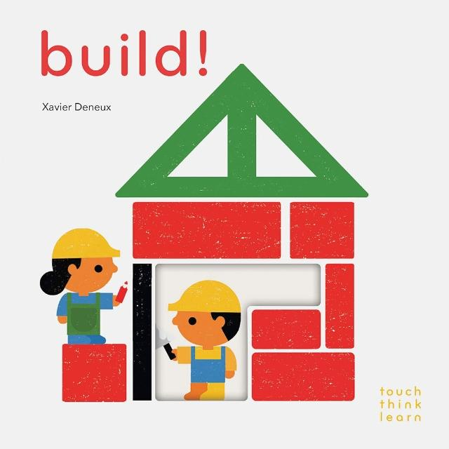【Song Baby】Touch Think Learn:Build! 蓋房子認知書(硬頁書)