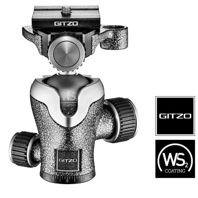 【gitzo 捷信】GH1382TQD 中心球型雲台(公司貨 載重11公斤)