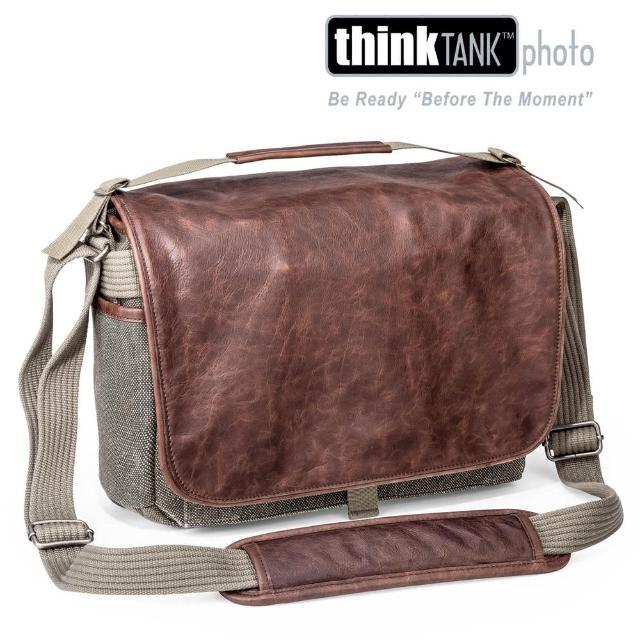 【thinkTANK 創意坦克】Retrospective 7 Leather復古皮革側背包7(褐M]-RS703[彩宣公司貨)