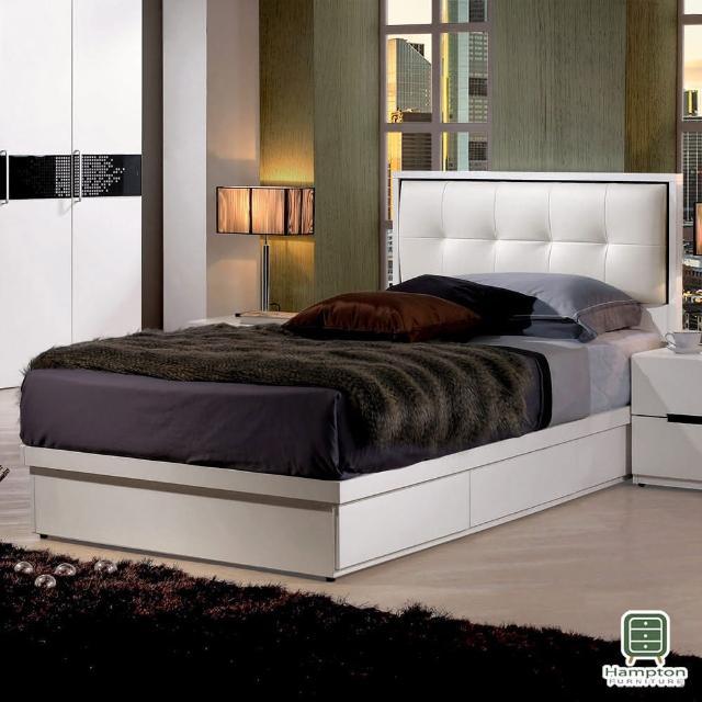 【Hampton 漢汀堡】威克斯3.5尺單人床組(一般地區免運費/單人床/床頭/床底)