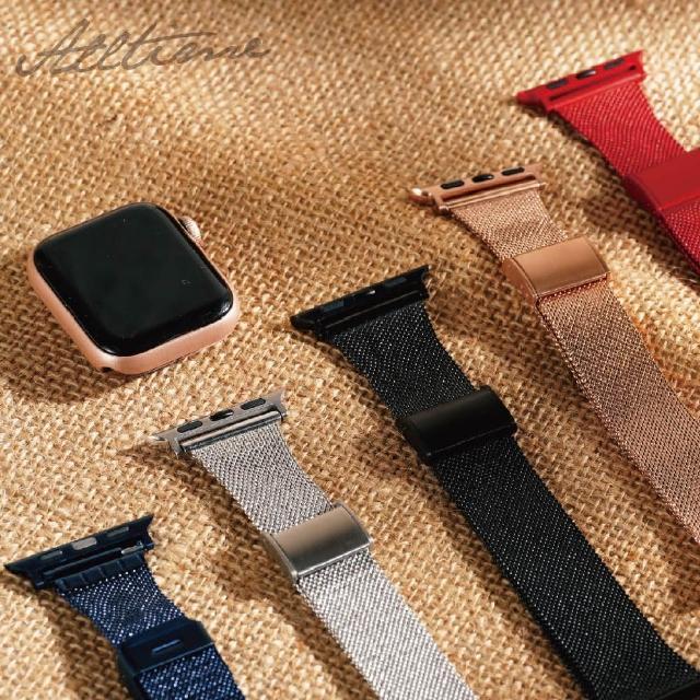 【ALL TIME 完全計時】米蘭尼斯磁力錶帶(Apple watch蘋果錶帶 米蘭帶)