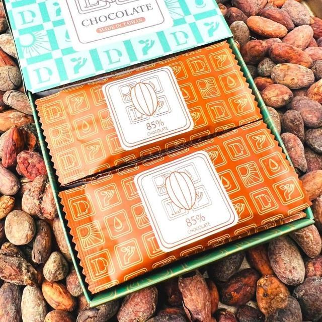 【多儂莊園工坊】85% 黑巧克力 45片 禮盒(巧克力禮盒 Darkolake)