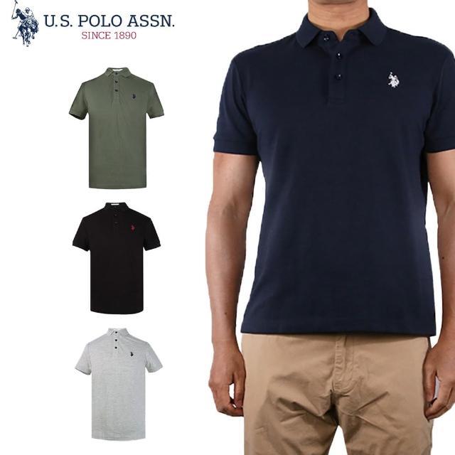 【U.S. POLO ASSN.】小馬短袖POLO衫-多色任選(熱銷經典)