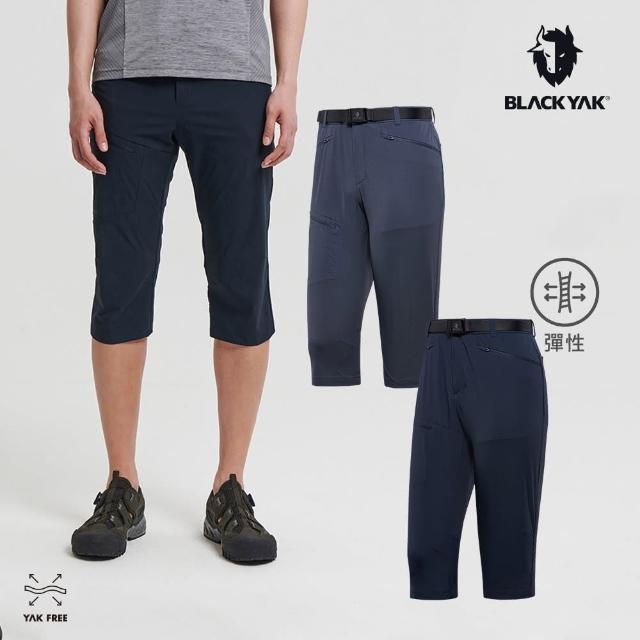 【BLACK YAK】男 MUST耐磨七分褲[海軍藍/碳灰]BYAB1MP102(韓國春夏 七分褲 短褲 男短褲)