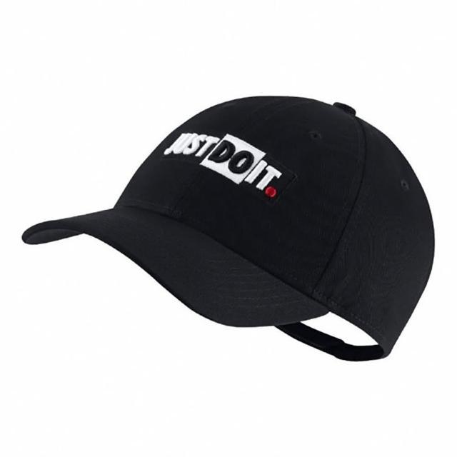 【NIKE 耐吉】老帽 NSW Legacy91 Cap 男女款 JDI 運動休閒 帽圍可調 穿搭推薦 黑 白(CQ9519010)