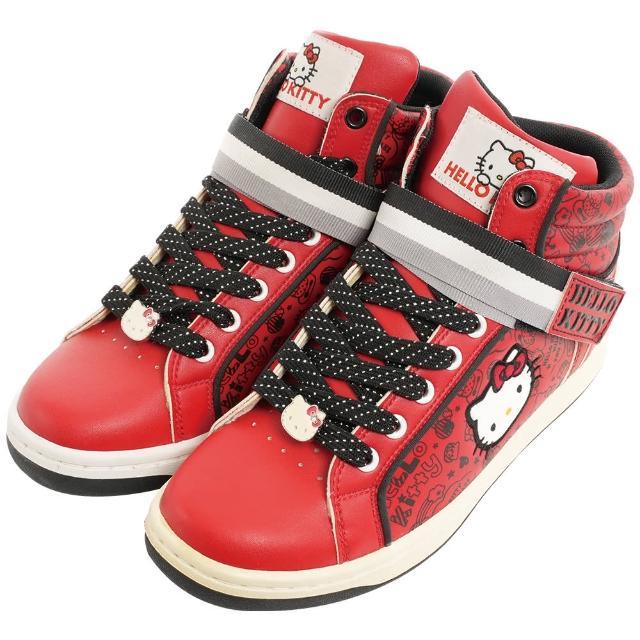 【TDL】HELLO KITTY凱蒂貓舒適休閒高筒板鞋 710430