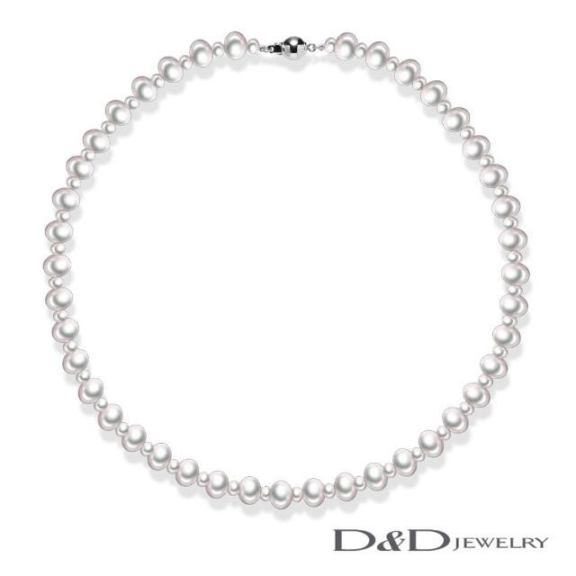 【D&D JEWELRY】COCO系列天然珍珠項鍊(白珍珠)