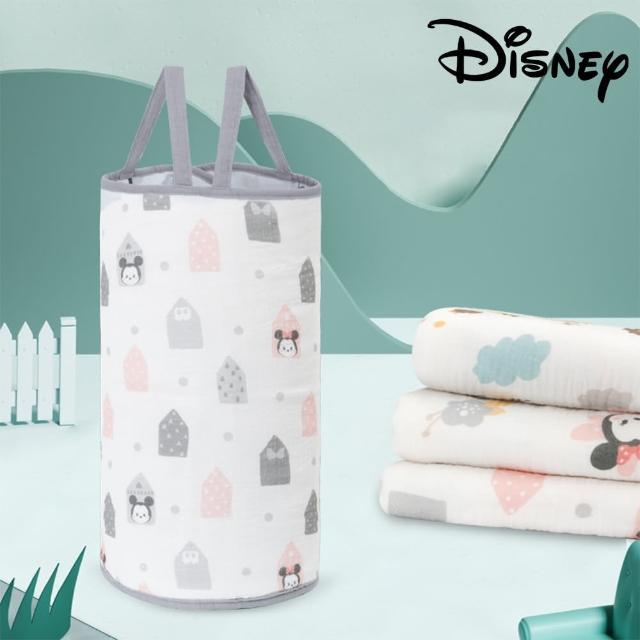 【Disney 迪士尼】米奇 米妮 嬰兒超柔軟純棉紗布護肚圍兜 寶寶肚兜(米奇 米妮 小熊維尼 唐老鴨)