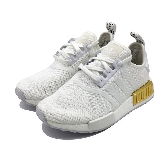 【adidas 愛迪達】ADIDAS NMD_R1 W 女 休閒鞋 白(EG6703)