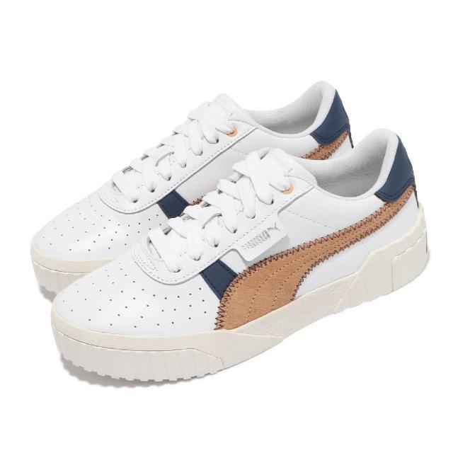 【PUMA】休閒鞋 Cali Retro Wns 女鞋 海外限定 厚底 復古 穿搭推薦 白 棕(37209501)