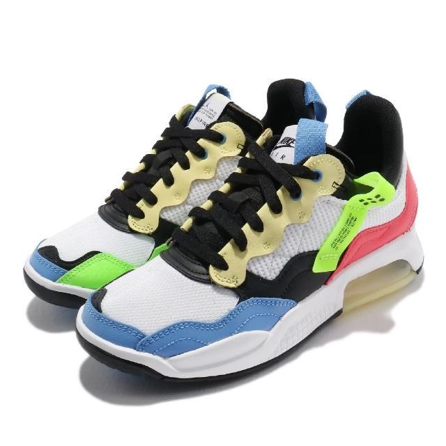 【NIKE 耐吉】休閒鞋 Jordan MA2 運動 女鞋 喬丹 氣墊 舒適 避震 簡約 球鞋 穿搭 白 彩(CW6594-110)