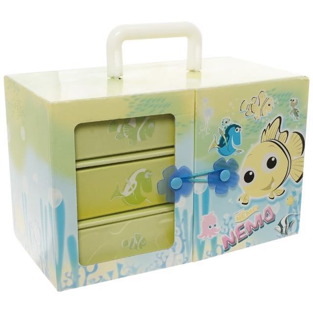 【TDL】海底總動員桌上型文具玩具收納盒飾品收納盒置物抽屜收納盒禮物 081465