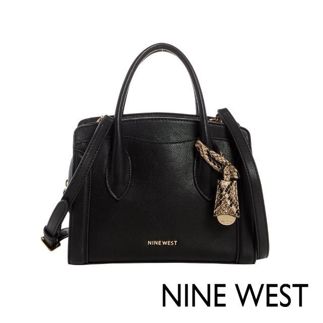 NINE WEST【NINE WEST】NINE WEST CRAWFORD手提/斜背劍橋小包-黑色(115805)