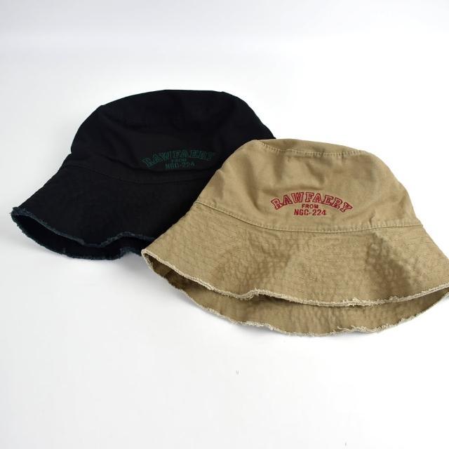 【玖飾時尚】漁夫帽 雙面配戴素色刷破帽沿(帽子)