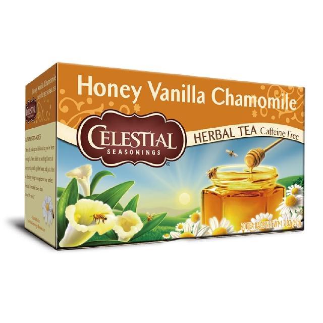 【Celestial 詩尚草本】美國進口 蜂蜜香草洋甘菊茶2盒組(20環保包 x 2)