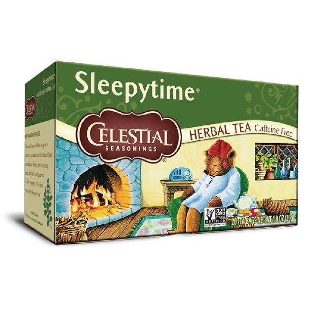 【Celestial 詩尚草本】美國原裝進口 睡前茶2盒組(20環保包 x 2)