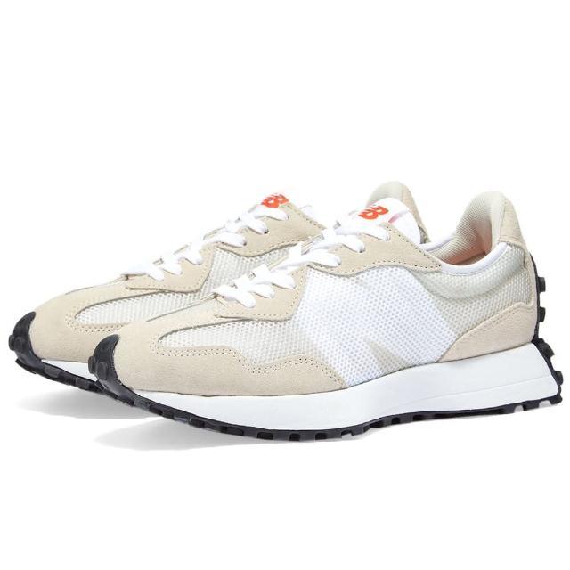 【NEW BALANCE】NB 復古 運動鞋 男女鞋 米白(MS327BA)