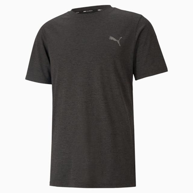 【PUMA】上衣 男款 短袖上衣 運動 慢跑 黑 52013707