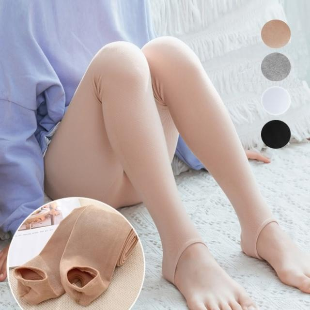 【橘魔法】素色超彈力不掉檔踩腳褲襪(兒童褲襪 連褲襪 內搭褲 襪子 童裝 大童 女童 童裝)